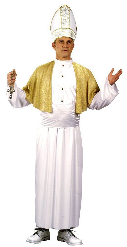 Costumes! Traditional Papal Robes The Pope Costume Set