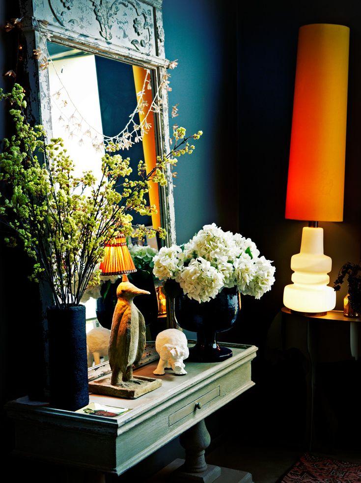 Orange Lamp.