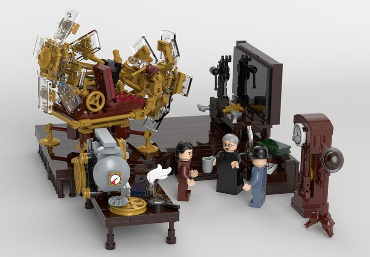 Time Machine Final Scene 04 | by dglacet