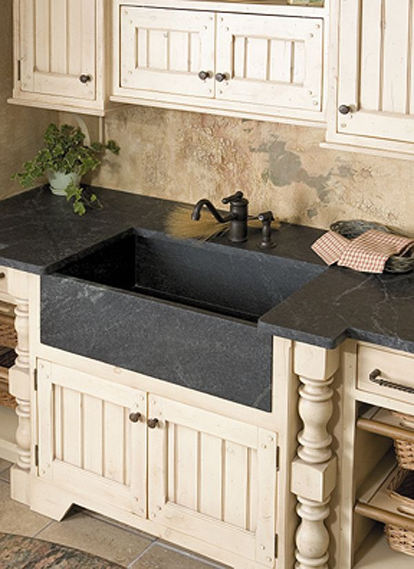 Nice Soapstone Sinks And Kitchen Countertops Offer A Great Option For Kitchens.