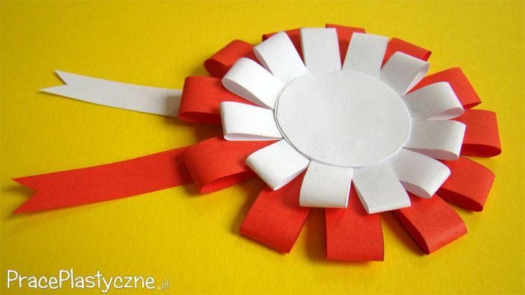 Kotylion z papieru