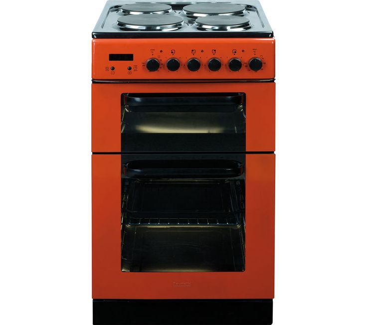 Baumatic Bce520r Electric Solid Plate Cooker Red