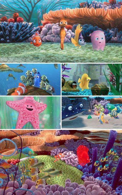 877 best finding nemo finding dory images on pinterest for Disney fish names