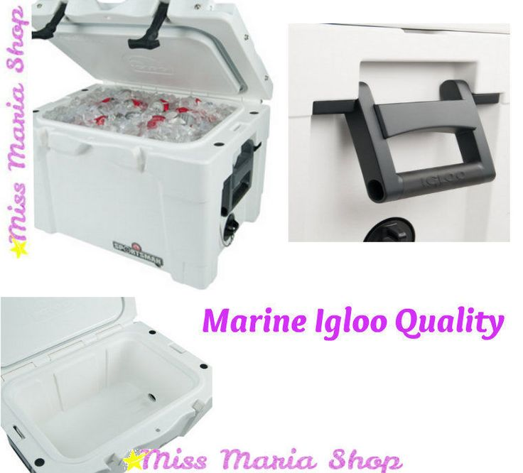 Igloo Sports Marine Cool Chest Cooler Insulation Foam Fishing Camping Outdoors