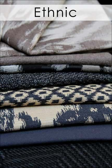 """The general trend of the textile industry in the current economy is """"Adaptation""""; facing the facts and dealing with the status quo, which has brought forth attention to detail and meaningful innovation.  This culture focuses on ideals instead of greed, with the emphasis on """"sustainable sophistication"""".        The themes at the 2012 international fairs, as attended by Hertex over the past six months, centered around the following: modern, nature, classic and ethnic."""