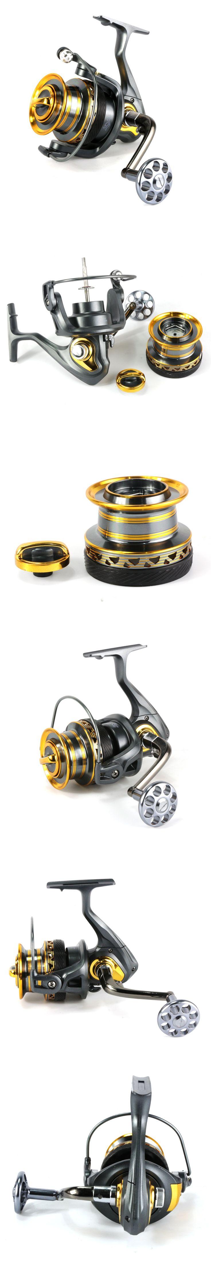 Metal distant wheel 4000-7000 series Metal Handle Spinning Fishing Reel 13+1BB Coarse Fishing Tackle Super Big Sea Fishing Wheel