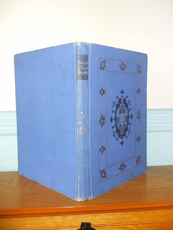 Rubaiyat Of Omar Khayyam Hardback Illutrated Book By Willy