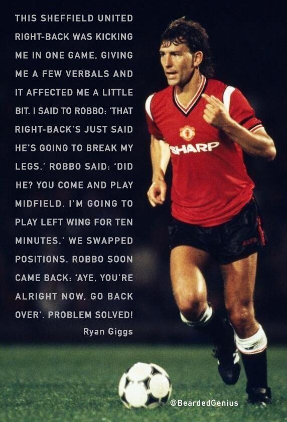 Ryan Giggs & Bryan Robson, Manchester United