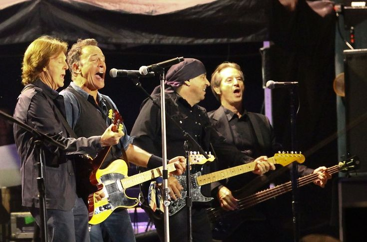 Paul McCartney, Rick Springsteen &  The E  Street Band _Hard Rock Calling- Day 2