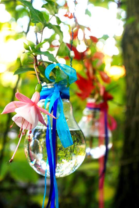Vaser av lyspærer