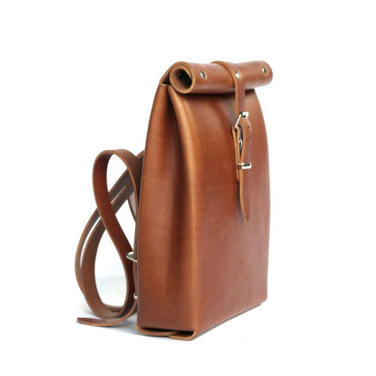 Rolltop Backpack   Chloe Stanyon Design   Wolf & Badger
