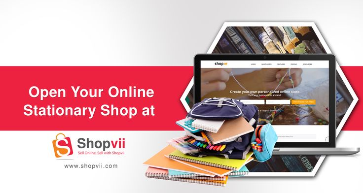 Are you looking for a professional look for your Stationery site? Choose the latest #Stationery #theme with useful #features and open your own online stationery store this season with ShopVii Online Store. #StationeryShop #OnlineShop #eCommerce #BookShop #Pen #Store #School #Buisness #Growth