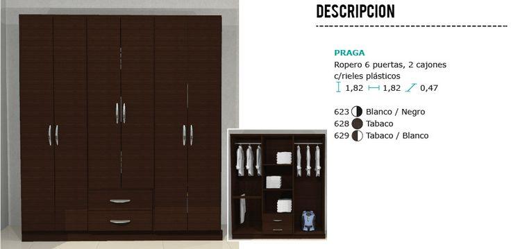 Ropero Armario Placard - $ 2.863,04 en Mercado Libre