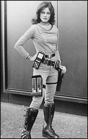 Maren Jensen as Athena from the original Battlestar Galactica. (from Christopher Elam's OWARI)