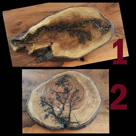 high voltage burned olivewood