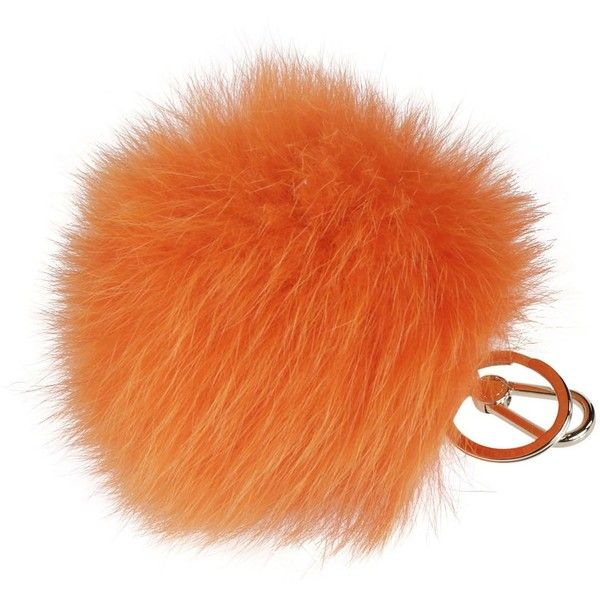 Furla Bubble Orange Keychain ($69) ❤ liked on Polyvore featuring accessories, arancio, keychain key ring, fob key chain, key chain rings, ring key chain and furla