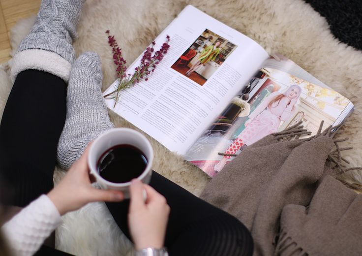 Did you know that you can warm up Berrie? What's more suitable for chilly autumn evening? Just add a magazine and woolen socks and you're ready!