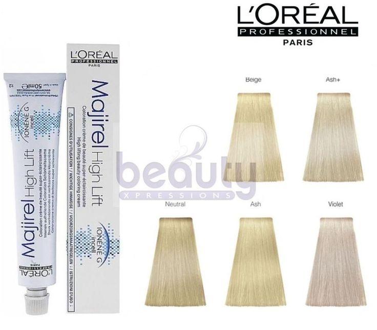 Loreal L'Oreal Professional Majirel High Lift Hair Dye Colour Permanent  50ml