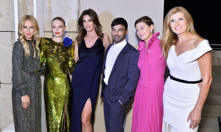 Rachel Zoe, Kate Bosworth, Cindy Craword, celebrity hairstylist Harry Josh, Ellen Pompeo and Connie Britton made quite the fashionable crew at the InStyle Awards in L.A. on October 23.