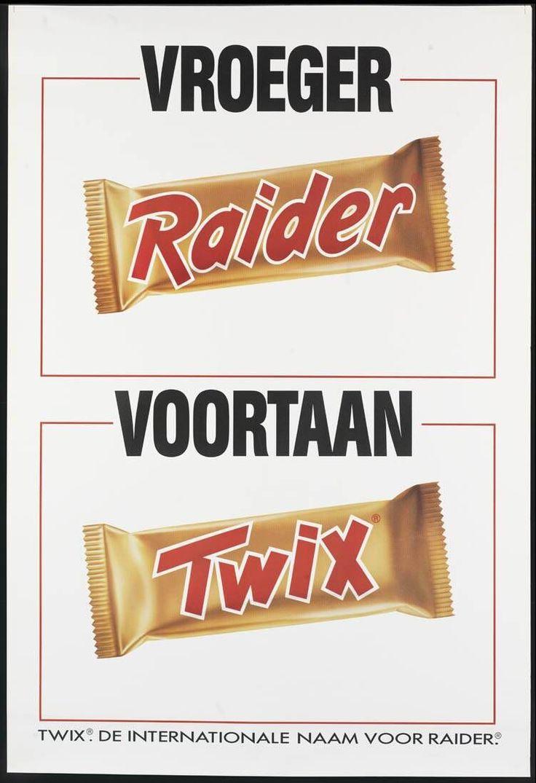 Raider / Twix advertising 1980's