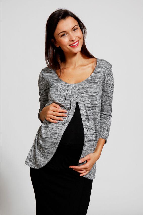 Tunique pour allaiter - Hauts grossesse & allaitement Jenda http://www.MammaFashion.com/
