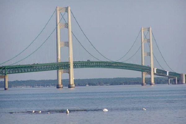 Mackinac Bridge - Michigan-Most Extreme Bridges Around The World