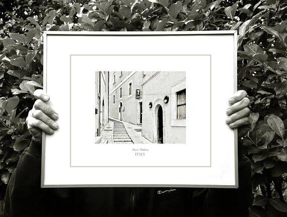 Italy fine art photography black white wall art print