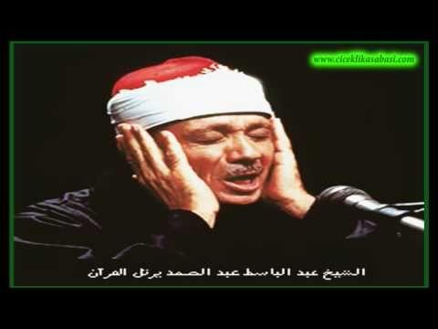 Abdulbasit ABDUSSAMED Ayetelkursii amenerrasulü - YouTube