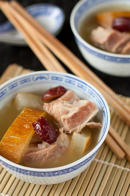 how to cook pork ribs soup
