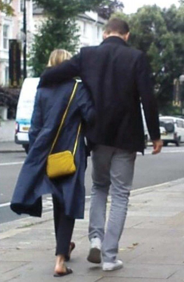 NO, NO, NO.  I SAID NO.   Close: Elizabeth Olsen and Tom Hiddleston continued to ignite romance rumours when they were pictured looking cosy in Oxford - after first being linked in May