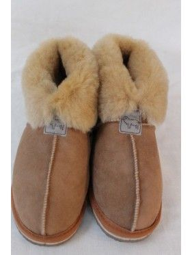 Ladies/Women Genuine Sheepskin Slippers - Fabandcosy.com