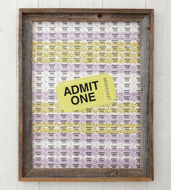 25+ unique Movie ticket stubs ideas on Pinterest Concert tickets - create your own movie ticket