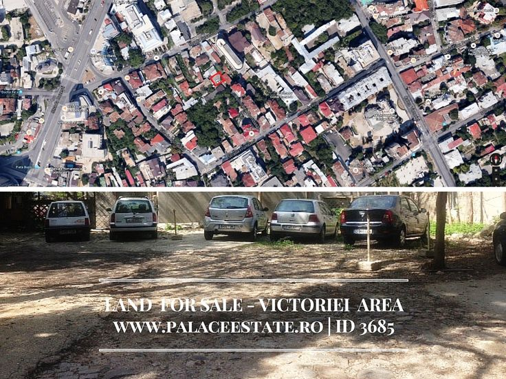 We offer for sale a buildable intravilan land, very close to Calea Victoriei, with a surface of 600 sq.m. The land has all the building autorization for a project of 17 apartments structured -2+Gf+6 floors on a built area of 1640 sq.m.  Layout: CUT: 2.4 POT: 40% PUZ: Yes PUG: Yes www.palaceestate.ro | ID 3685
