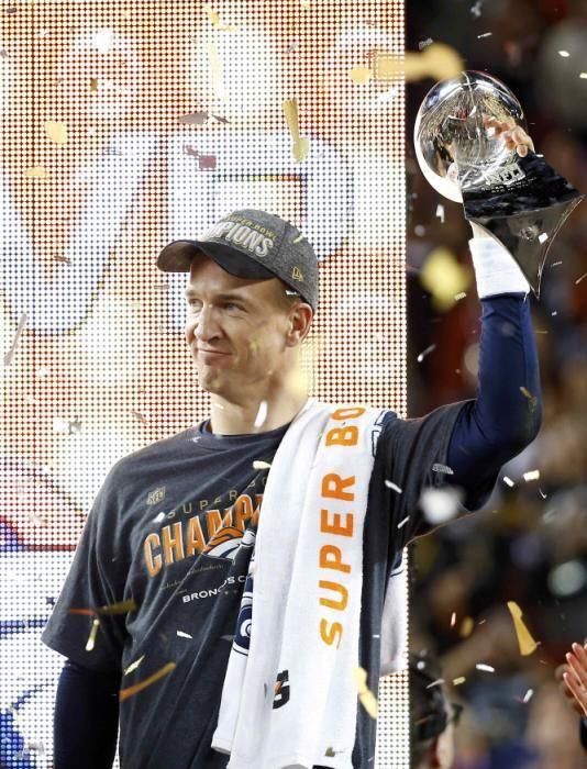Denver Broncos celebrate Super Bowl 50 title