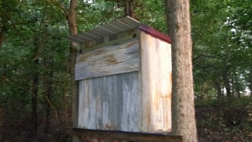 Deer Blind Made Using Old Pallets Pallet Projects