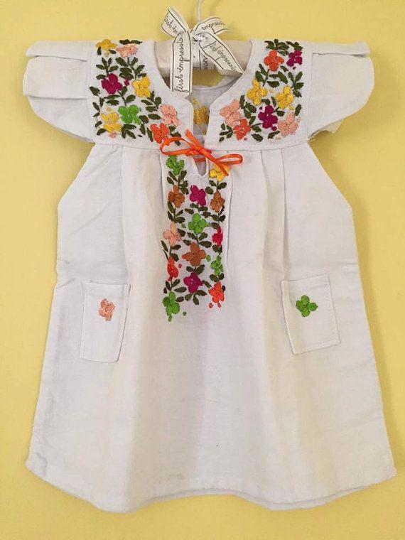 Bebé vestido de mexicano san antonino estilo fiesta mexicana novia mexicana frida kahlo fiesta mexicana bordado niña bordado parte superior