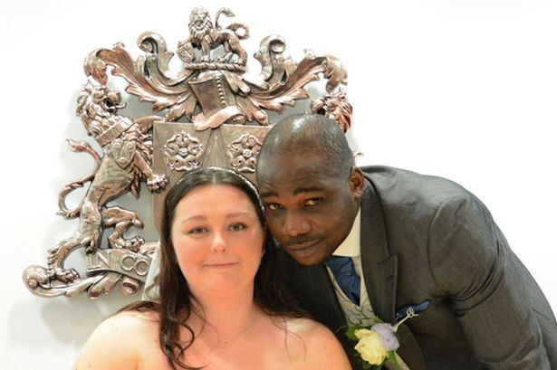 British woman starts online petition to stop her NigerianOlympic boxerhusband from being deported from the UK - https://www.nollywoodfreaks.com/british-woman-starts-online-petition-to-stop-her-nigerian-olympic-boxer-husband-from-being-deported-from-the-uk/