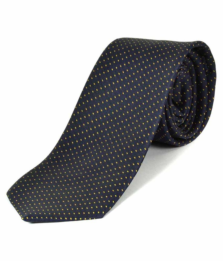 Greyon Black Silk Neck Tie