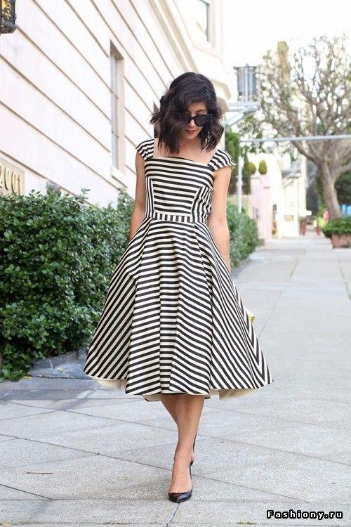 Вы любите морской стиль в одежде? Безусловно, да (105 фото)! / мода плетье в морском стиле фото
