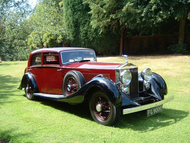 1933 Rolls Royce Phantom II Continenta Classic