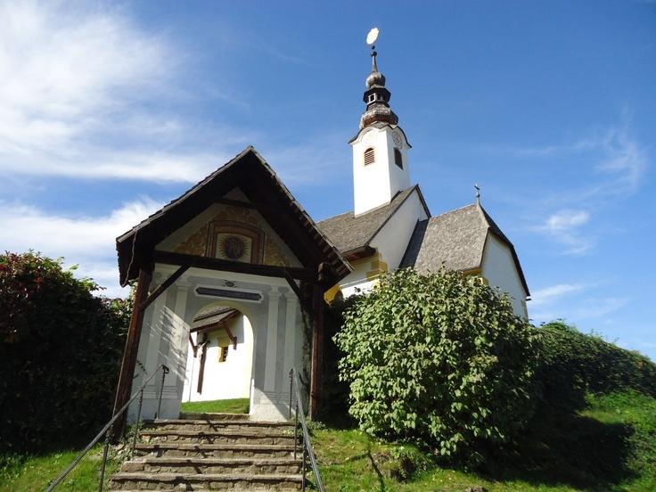 Maria Wörth, Filialkirche Winterkirche oder Rosenkranzkirche (Klagenfurt Land) Kärnten AUT