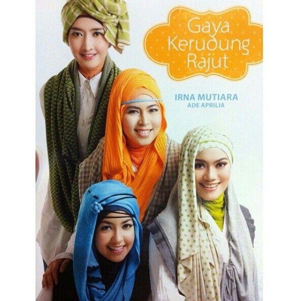 Kerudung rajut book by Irna Mutiara x Ade aprilia 2012