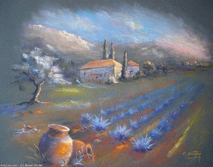 Artwork >> Breton Michel >> Daybreak Provençale