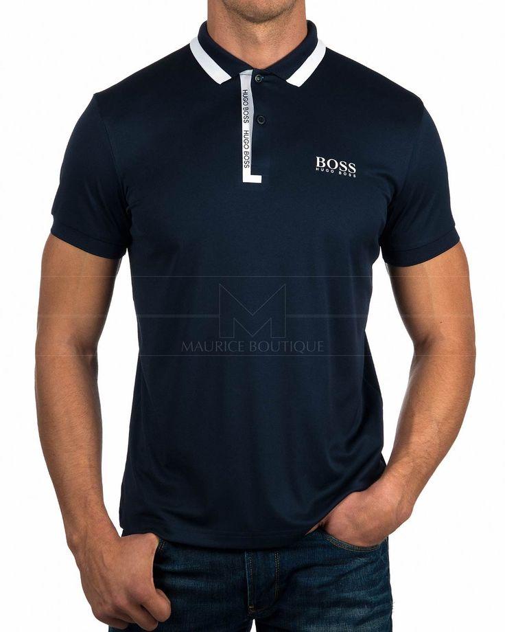 Polos Hugo Boss ® Azul Marino - Paddy Pro 2 |ENVÍO GRATIS