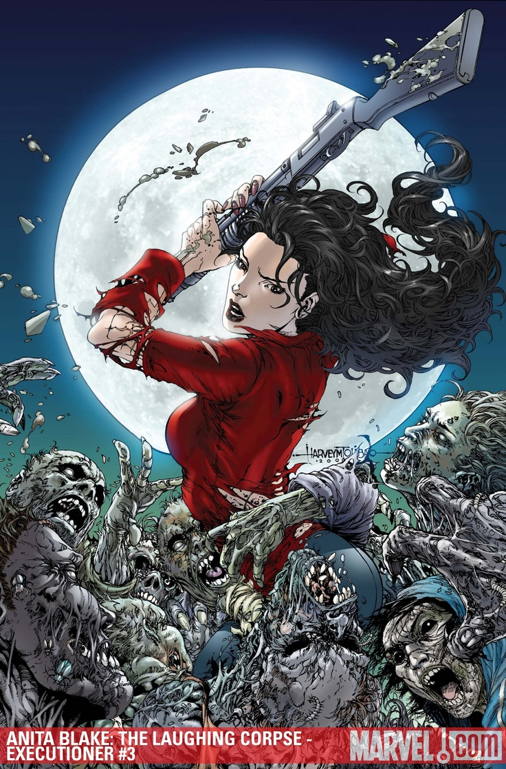 Anita Blake Vampire Hunter (based On Same Novel Series From Laurel K  Hamilton)