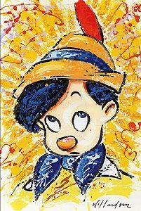 Pinocchio - Got No Strings - David Willardson - World-Wide-Art.com - #davidwillardson #disney #pinocchio