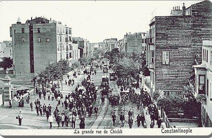 Old Istanbul Tour with photos Sisli-1909 