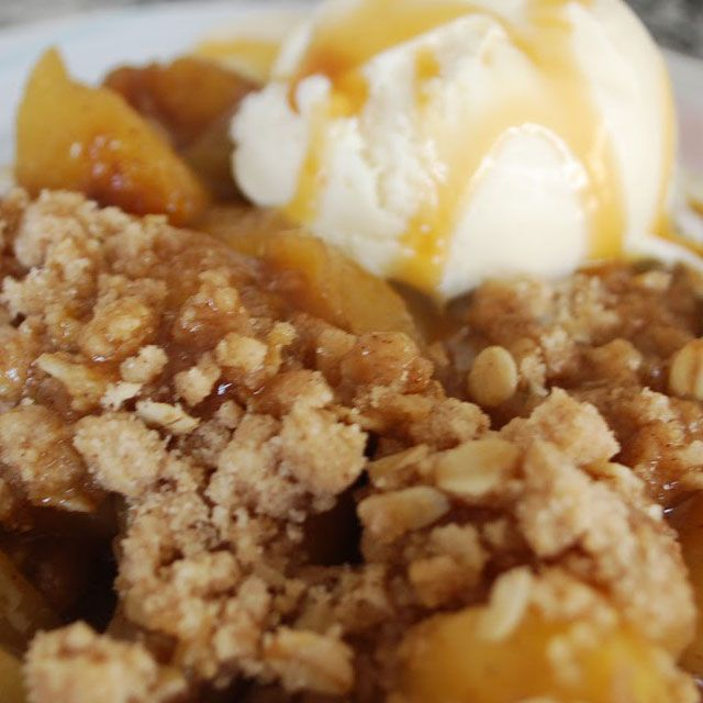 ... pears on the market right now and the regular apple crisp stand by