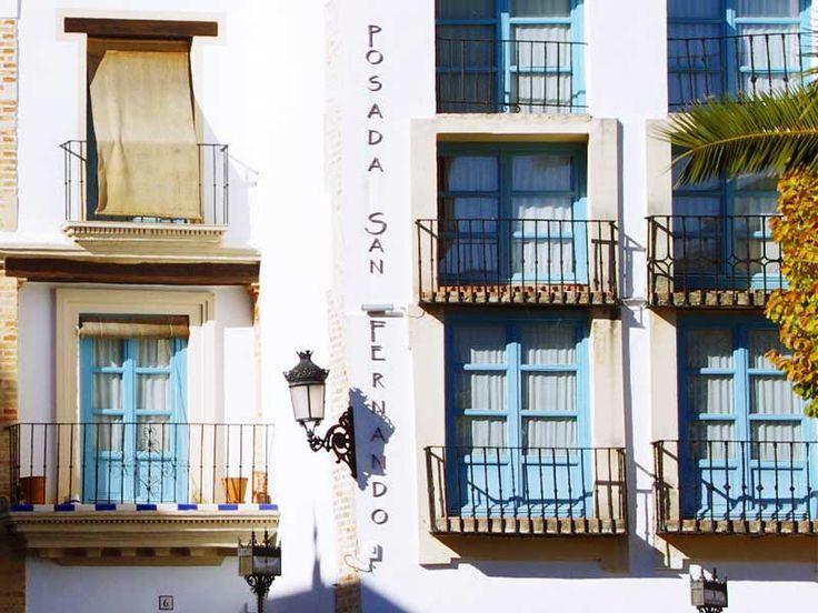 Detalle fachada Posada San Fernando, Hotel con Encanto en Carmona