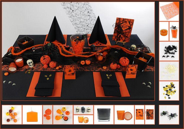 17 besten tischdeko herbst bilder auf pinterest - Tischdekoration halloween ...